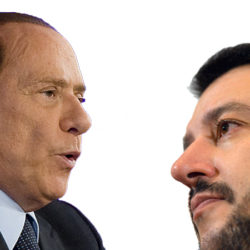 Sondaggio Index Research: Salvini batte Berlusconi come leader del Centrodestra