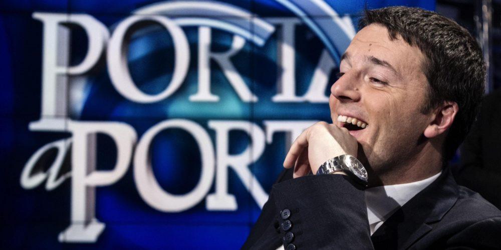 Sondaggi di Porta a Porta - primarie PD: è Renzi il favorito