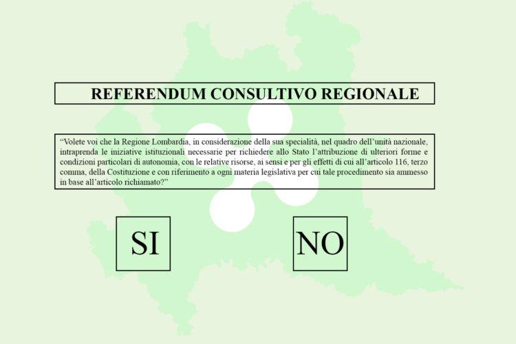 EMG Acqua: primo sondaggio sul referendum consultivo per l'autonomia della Lombardia