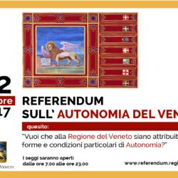 Referendum Autonomia Veneto - Secondo il sondaggio SP il SI vince a valanga