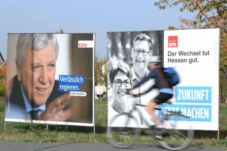Elezione in Assia - La CDU è in difficoltà e i Verdi si preparano alla vittoria