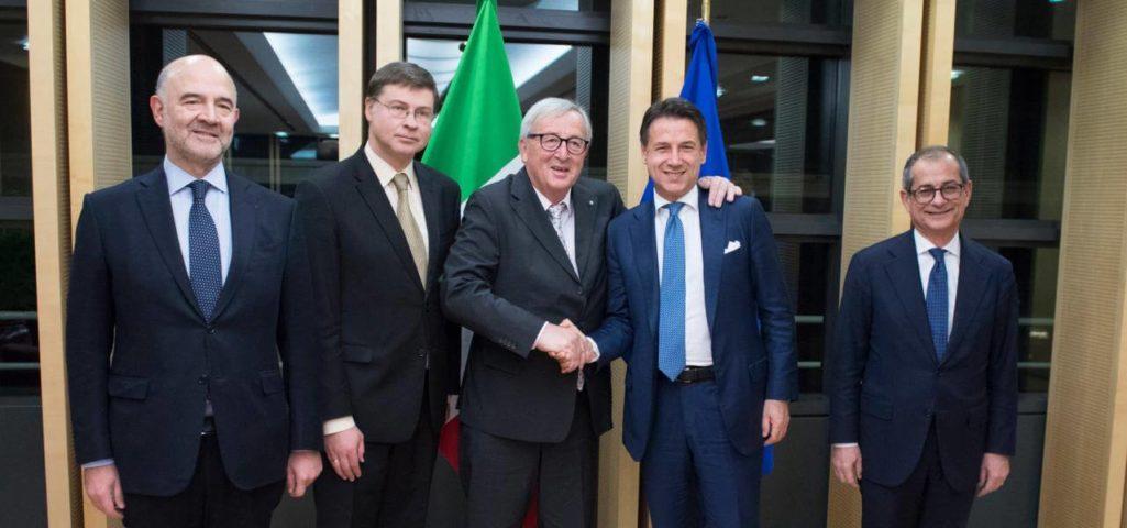 Sondaggio Demopolis : Manovra, italiani a favore dell'accordo con l'UE