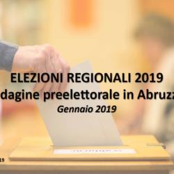 Sondaggio SWG - Regionali Abruzzo: Il centrosinistra rimonta 10 punti, Marsilio (CDX) è in testa ma la partita si riapre
