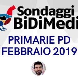 Sondaggio BIDIMEDIA - Primarie PD: Zingaretti vola, avversari al palo.