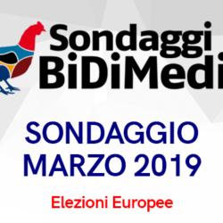 Elezioni Europee - Marzo 2019 - Partecipate al nostro sondaggio: chi votereste se si votasse domani?