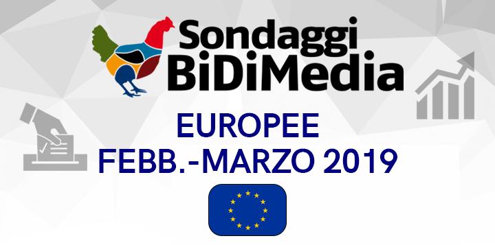 Sondaggio Bidimedia, Elezioni Europee - Il SORPASSO: Siamo Europei supera un M5S sempre più in crisi!