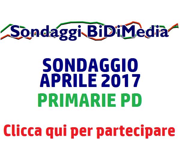 Sondaggio Bidimedia - Elezioni Politiche e Primarie PD