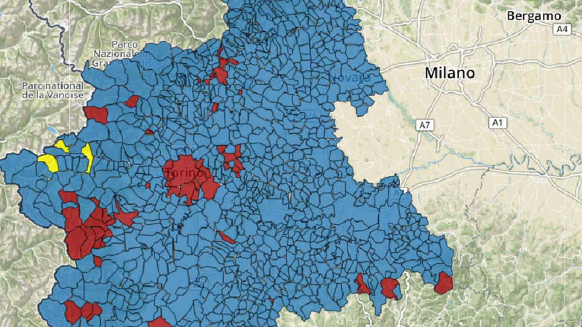 Cartina Regione Piemonte.Regionali Piemonte 2019 La Mappa Interattiva Bidimedia Per Comune